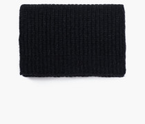 Strickschal aus Royal Baby Alpaka Mix black