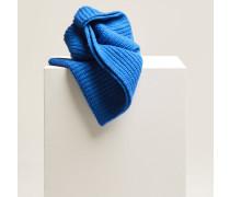 Schal aus Royal Baby Alpaka Mix electric blue