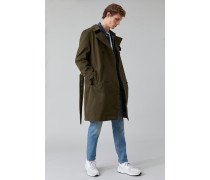 Trenchcoat aus Outerwear Twill cypress