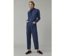 Jeansbluse mid blue