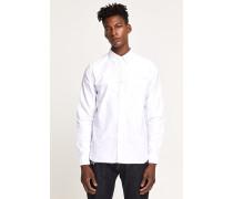 Button Down Hemd aus Oxford white
