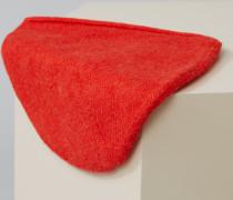 Strickmütze aus Royal Baby Alpaka Mix scarlet red