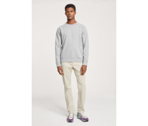 Sweatshirt light grey melange
