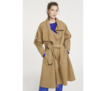 Trenchcoat Emi golden ochre