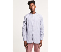 Longshirt mit Stehkragen mid grey