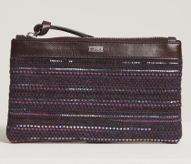 Collection Woven Pouch vino
