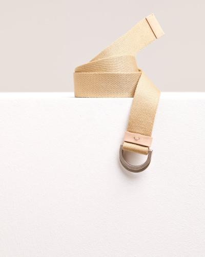 Stoffgürtel mit Metallschließe reed