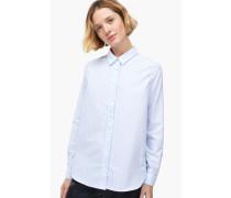 Gestreifte Hemdbluse aus Oxford blue cadillac
