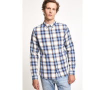 Button Down Hemd new woad