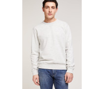 Sweatshirt in Melange-Optik vanilla