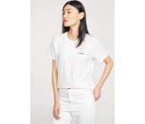T-Shirt mit Print white