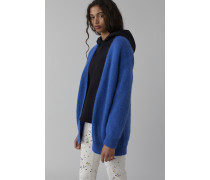 Open Front Cardigan blue flash