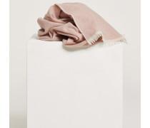 Schal aus Schurwolle &amp: Cashmere rose