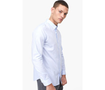 Oxford Button Down Hemd royal blue
