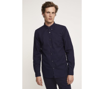 Button Down Hemd dark night