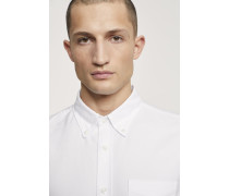 Button Down Hemd white