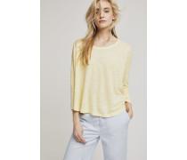 Langarmshirt aus Leinen mellow yellow