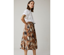Printed Skirt golden oak