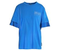 Embellished cotton-blend jersey T-shirt