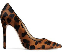 Gilberta leopard-print calf hair pumps