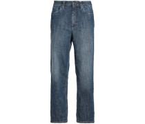 Faded boyfriend jeans
