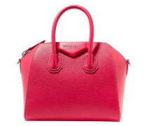 Antigona Textured-leather Tote Fuchsia Size --