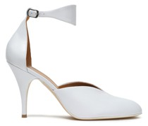 Woman Leather Pumps White