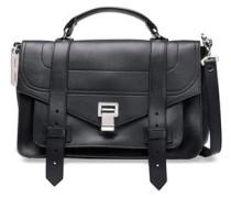 Ps1 Textured-leather Shoulder Bag Black Size --