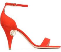 Penelope embellished suede sandals