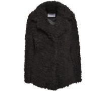 Faux Shearling Jacket Black