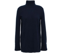 Cashmere Turtleneck Sweater Midnight Blue