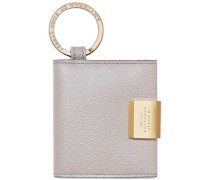 Grosvenor Leather Keychain Taupe Size --