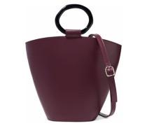 Seberg Leather Shoulder Bag Merlot Size --