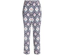 Printed georgette tapered pants