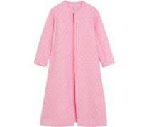 Helen oversized cotton-blend cloqué coat
