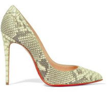 Pigalle Follies 100 Python Pumps Animal Print