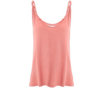 The Twisted Cotton-jersey Tank Antique Rose Size 1