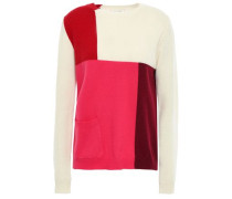 Wool And Cashmere-blend Sweater Multicolor