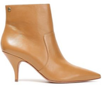 Georgina Leather Ankle Boots Light Brown