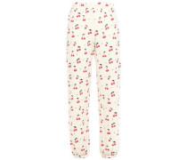 Fleece Track Pants Ivory