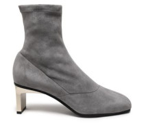 Blade stretch-suede sock boots