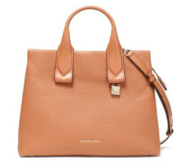Rollins Pebbled-leather Tote Tan Size --