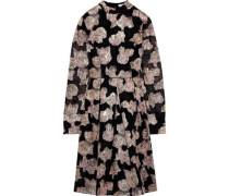 Effie Metallic Fil Coupé Organza Dress Black Size 14