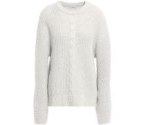 Wool-blend Sweater Light Gray
