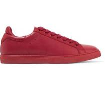 Nine leather sneakers