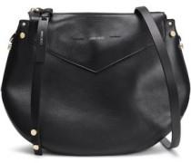 Artie Leather Shoulder Bag Black Size --