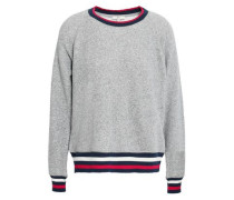 Mélange French Terry Sweatshirt Stone