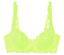 Prettie Stretch-lace Underwired Bra Bright Yellow   B