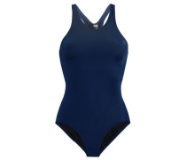 Ruched Swimsuit Navy