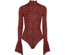 Haven corded lace turtleneck bodysuit